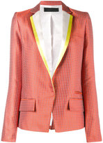 Haider Ackermann jacquard blazer - women - Silk/Cotton/Rayon - 34