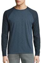 John Varvatos Cotton Blend Raglan T-Shirt
