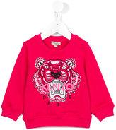 Kenzo tiger logo sweatshirt - kids - Cotton - 24 mth