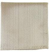 The Tie Bar Native Herringbone 100% Woven Silk Pocket Square