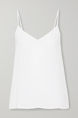 Equipment Layla Washed-silk Camisole - White