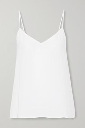 Equipment Layla Washed-silk Camisole - White