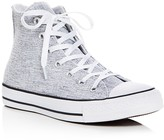 Converse Chuck Taylor All Star Sparkle Knit High Top Sneakers