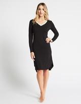 Deshabille Angelic Night Dress Black