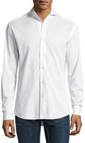 Ralph Lauren Knit Sport Shirt, White