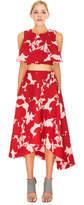 Keepsake SCRIBE SKIRT shadow floral red