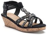 Candies Candie's® Girls' Beaded Wedge Sandals