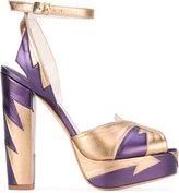 Terry De Haviland - lightning bolt sandals - women - Leather - 36