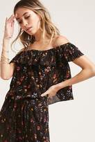 Forever 21 I The Wild Floral Top