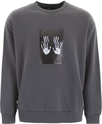 Marcelo Burlon County of Milan Hands Square Sweatshirt