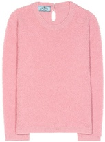 Prada Alpaca and cotton-blend sweater