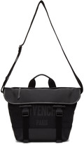 Givenchy Black Canvas Messenger Bag