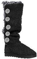 Muk Luks Malena Crochet Button-Up Boot