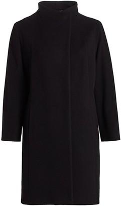 Cinzia Rocca, Plus Size Virgin Wool & Cashmere Walking Coat