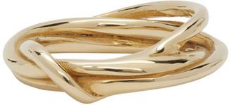 FARIS Gold Tangle Ring