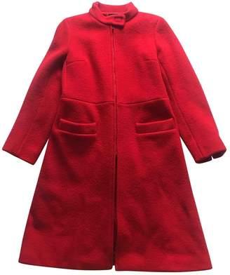 agnès b. \N Red Wool Coat for Women