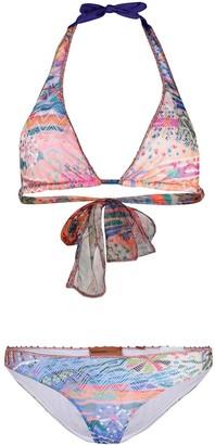 Missoni Mare Abstract Print Bikini Set