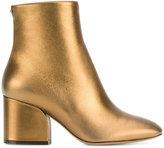 Salvatore Ferragamo wave heel ankle boots