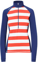 Ralph Lauren Golf Striped Mockneck Pullover