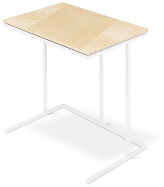 Tobias Network End Table Gus* Modern Color: Blonde Ash