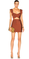 Balmain Cut Out Mini Dress