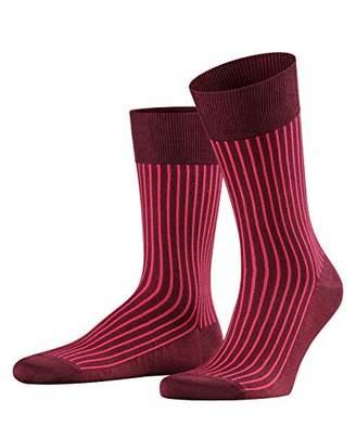 Falke Men's Oxford Stripe socks, 1 pair, UK size 8.5-9.5 (EU ),cotton mix - Vibrant colours, mercerised cotton, timeless stripe design