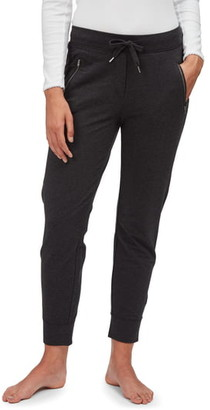 The White Company Zip Detail Jersey Joggers