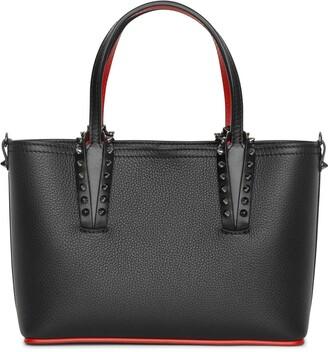 Christian Louboutin Cabata mini black leather tote bag