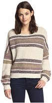 By Ti Mo byTiMo Women's Striped Sweater