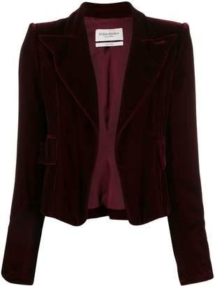 Saint Laurent Pre-Owned 2003 velvet jacket