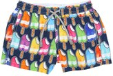 MC2 Saint Barth Ice Creams Print Nylon Swim Shorts