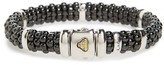 Lagos Women's Black Caviar Station Bracelet