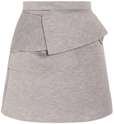 MSGM Neoprene Twist Skirt