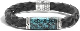 John Hardy Classic Chain Station Bracelet with Black Jade