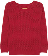 Levi's Pointelle-knit sweater