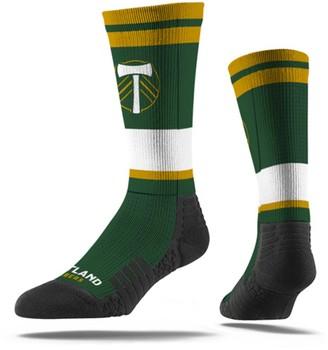 Men's Green Portland Timbers Premium Sublimated Crew Socks