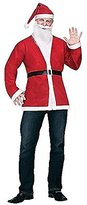 Fun World Costumes Adult Pub Crawl Santa Jacket Kit Costume