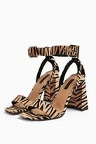 Topshop Womens Roxy Flare Block Heels - Multi