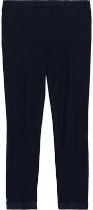 The Row Laviez Cropped Mid-rise Skinny Jeans