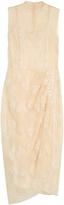 Simone Rocha Bead and tinsel-embellished sleeveless dress