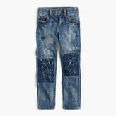 J.Crew Boys' distressed well-worn wash jean in slim fit