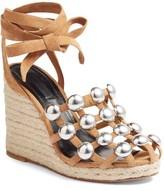 Alexander Wang Women's Taylor Stud Wedge Sandal