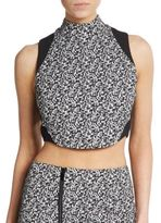 Elizabeth and James Malorie Cropped Top