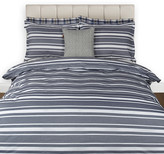 Gant Log Stripe Duvet Cover - Midnight Blue - King
