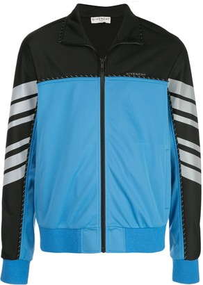 Givenchy Two-Tone Track Jacket