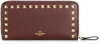 Valentino Garavani Rockstud zip around wallet