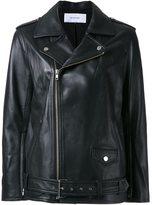 Le Ciel Bleu 'Leather Rider' jacket