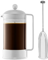 Bodum Brazil 8 Cup French Press with Milk Frother