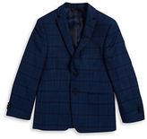 Michael Kors BOYS 8-20 Boys Plaid Wool Blazer