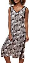 East Pyramid Split Tunic, Black